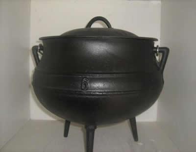 cast iron products cast iron pots potjie kos pots best duty pots falkirk pots cape town. Black Bedroom Furniture Sets. Home Design Ideas